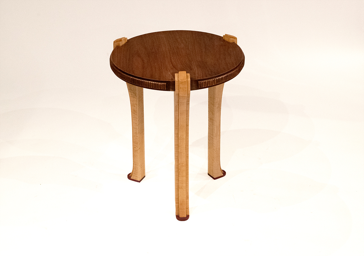 Round Display Table By Western Hands